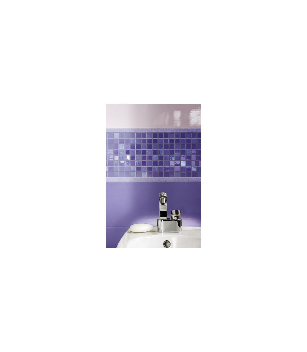 Piastrelle Bagno Mosaico Viola piastrella ceramica bagno viola - compra online