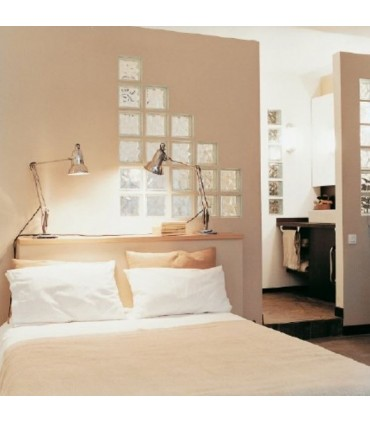 vetromattone ondulato camera da letto