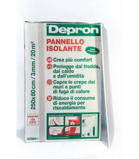 PANNELLO ISOLANTE SOTTILE DEPRON 3mm.