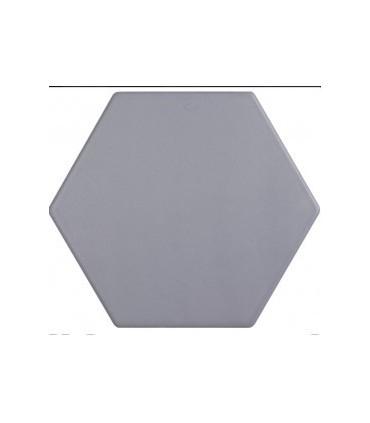 PIASTRELLA ESAGONALE grigio medio