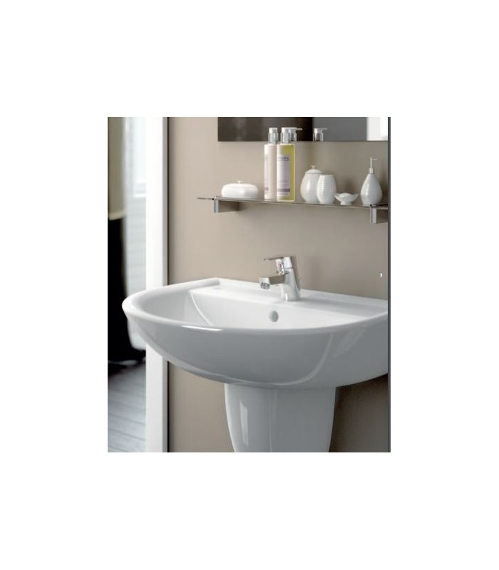 Dolomite arredo bagno bagno classico moderno for Arredo bagno lavabo sospeso
