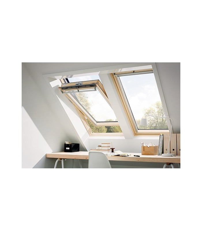 velux ggl 206 velux roller blinds rfl with velux ggl 206. Black Bedroom Furniture Sets. Home Design Ideas