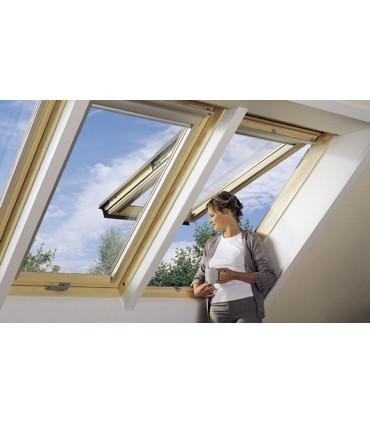 Finestra da tetto Velux GPL manuale con doppia apertura vasistas-bilico