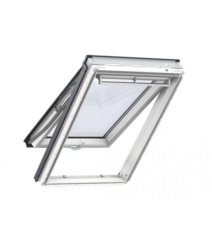 Velux gpu finestra vasistas bilico manuale bianca for Velux tetto