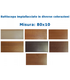BATTISCOPA 80x10 IMPIALLACCIATO