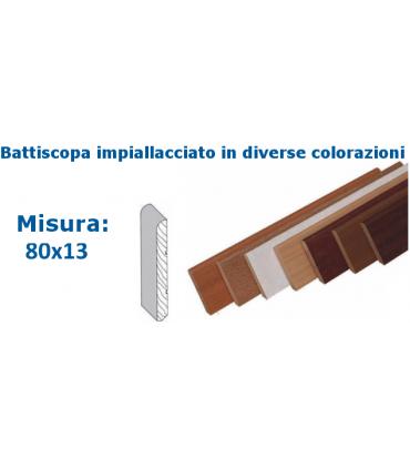 BATTISCOPA 80x13 IMPIALLACCIATO