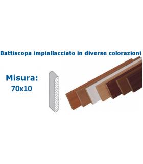 BATTISCOPA 70X10 IMPIALLACCIATO