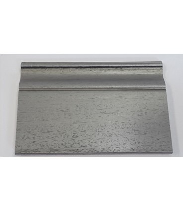 BATTISCOPA 140X16 MASSELLO LIBERTY argento