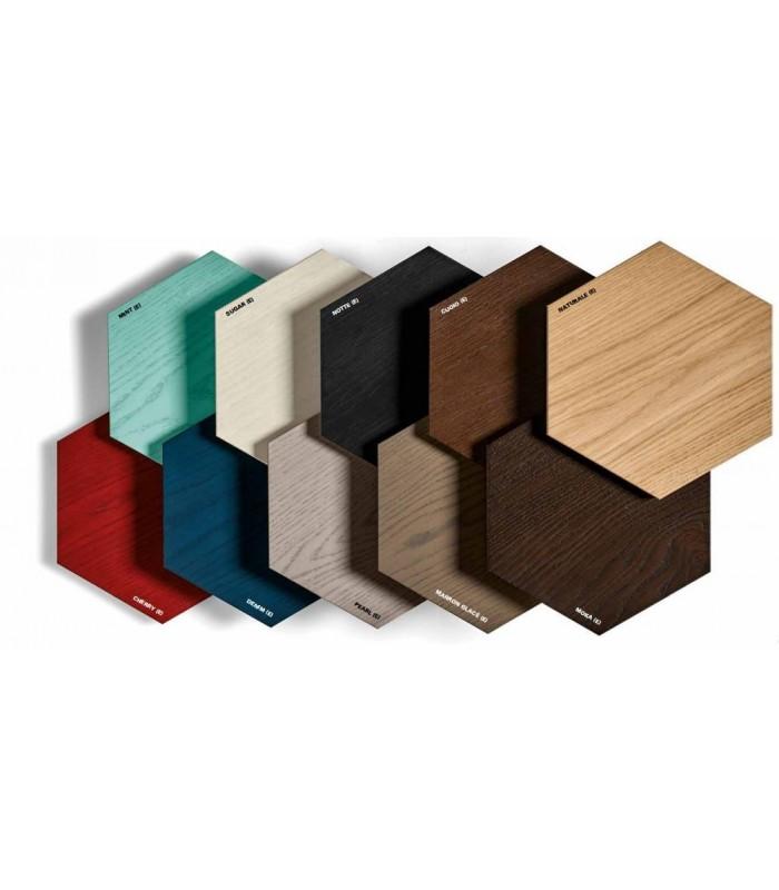Piastrelle esagonali in legno bisazza wood - Piastrelle di legno ...