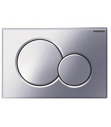 Placca per cassetta wc Geberit cromo lucido