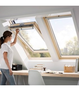 VELUX GGL - FINESTRA A BILICO MANUALE - PACCHETTO QUALITY