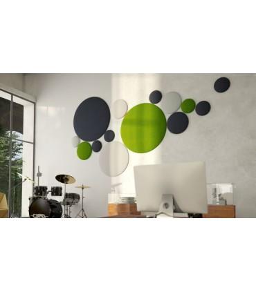 Pannelli acustici isolanti circolari da interno
