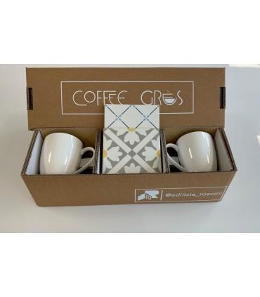 SET NATALE COFFEE GRES