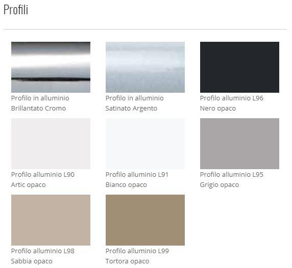 Box doccia Acrux - profili alluminio